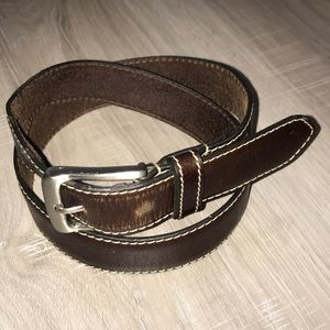 Joseph Abboud Leather Belt